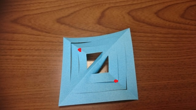 雪の結晶 折り紙 作り方