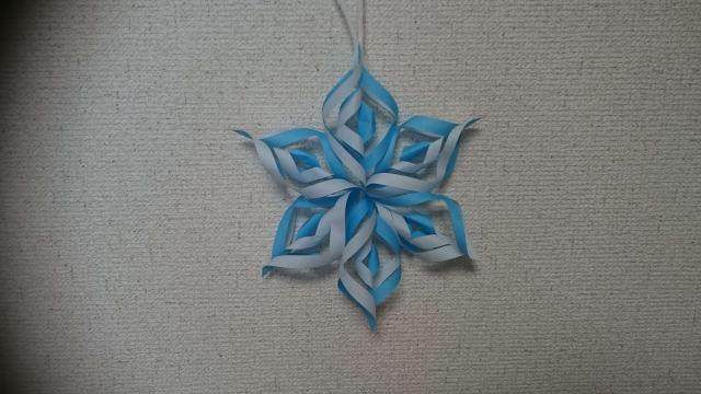 雪の結晶 クリスマス 飾り